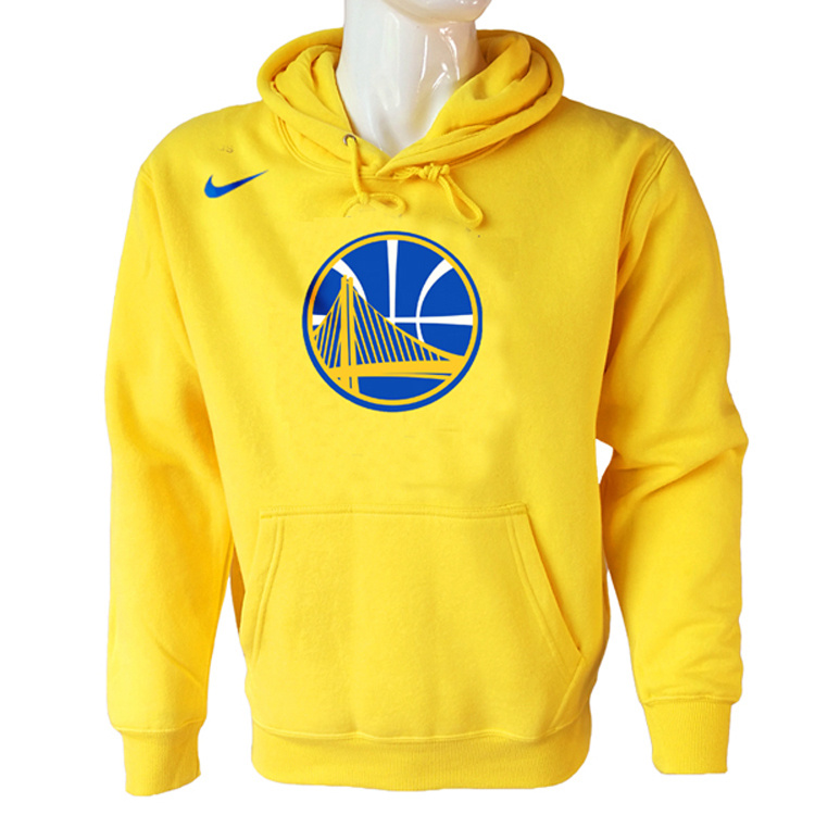 Vendita Felpe Con Cappuccio NBA Golden State Warriors Nike Giallo