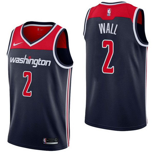 Vendita Maglia NBA Nike Washington Wizards NO.2 John Wall Marino Statement